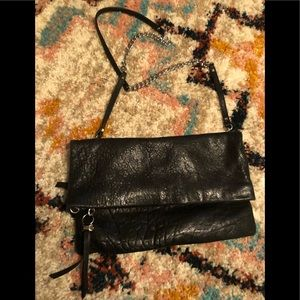 Stella and dot 100% leather Crossbody /Clutch